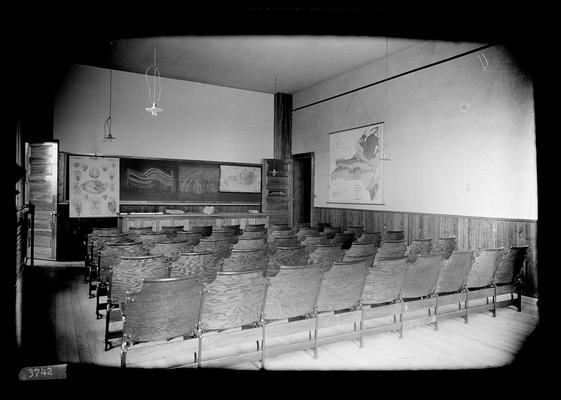 Notation Geology lecture room April 1898