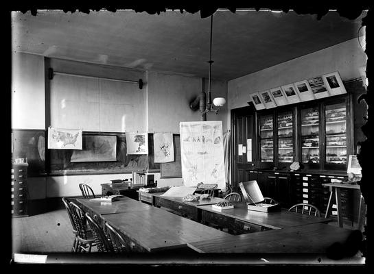 Notation                          Geological class room, Physical Laboratory, Spring 1897, for catalogue