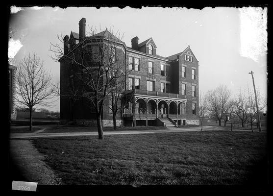 Notation New Dormitory April 21, 1898, Neville Hall