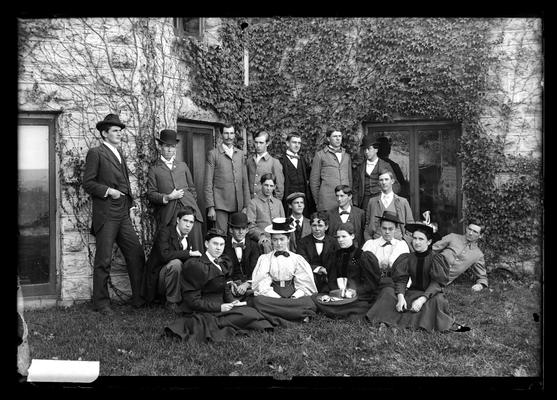 Notation Class in Horticulture 1898