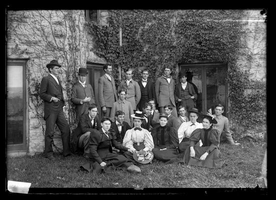 Notation Class is Horticulture 1898