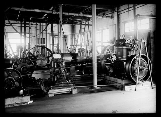 Steam lab, Westinghouse engine