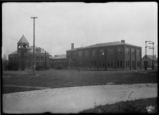 Mechanical Hall, exterior