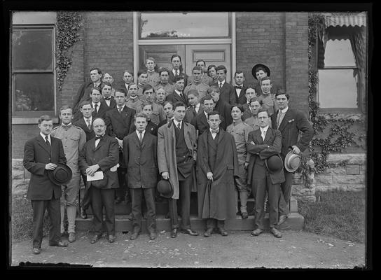 Engineering freshman May 1908