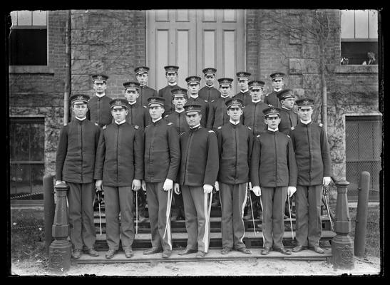 Commissioned officers, 1906-1907