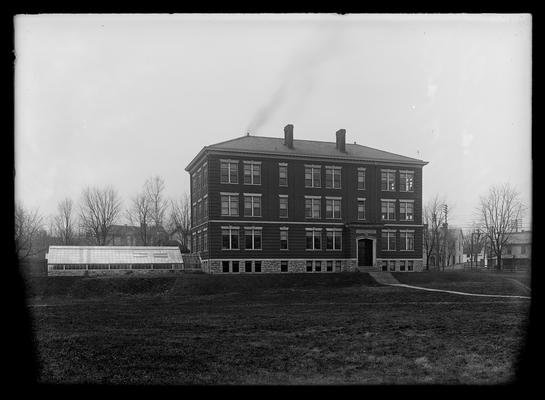 Agricultural Building (Scovell Hall) exterior