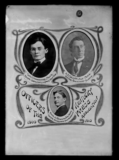 Officers of Kentucky Press Association