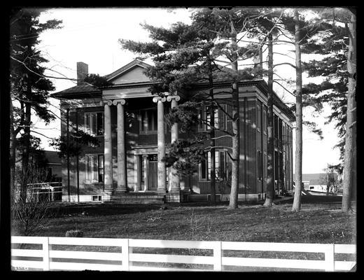 Bryan homestead near Lexington