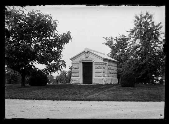President J.K. Patterson's mausoleum