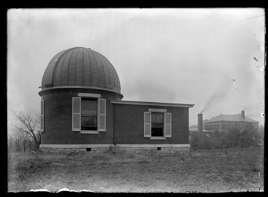 Observatory, Kentucky State College (University of Kentucky) exterior