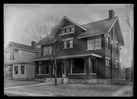 L.K. Frankel house, exterior