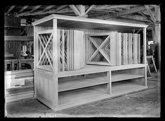 Large cabinet, two shelves