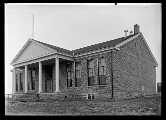 New brick school house at Greendale