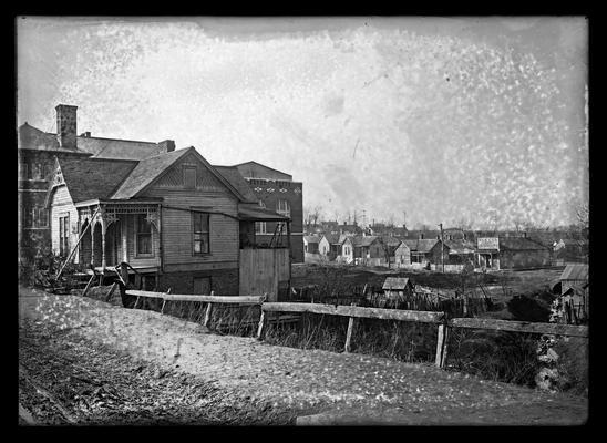 Lincoln School, area surrounding, for Mrs. Breckinridge