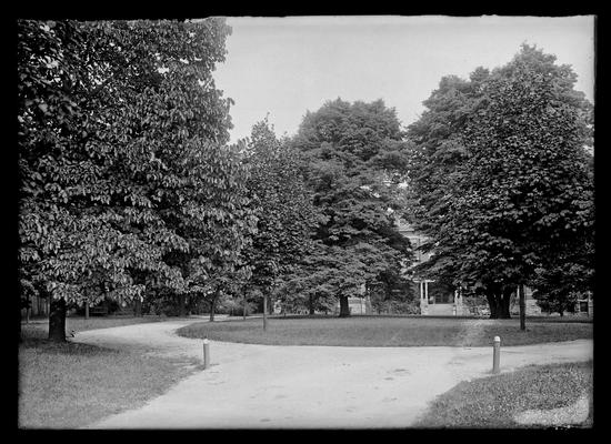 Patterson Hall circle, in 1911 annual (?)