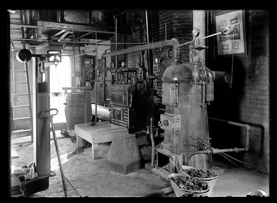 Testing furnaces, fuel test laboratory, Clark's thesis
