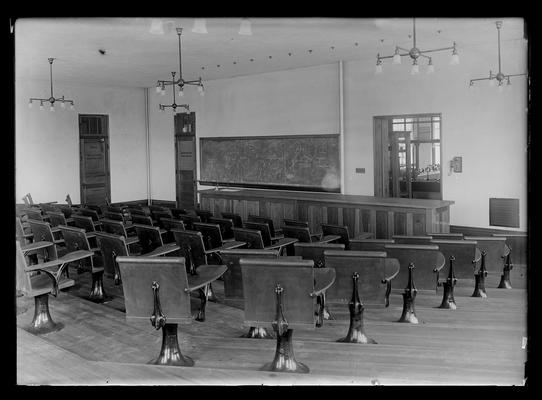 Civil engineering lecture room