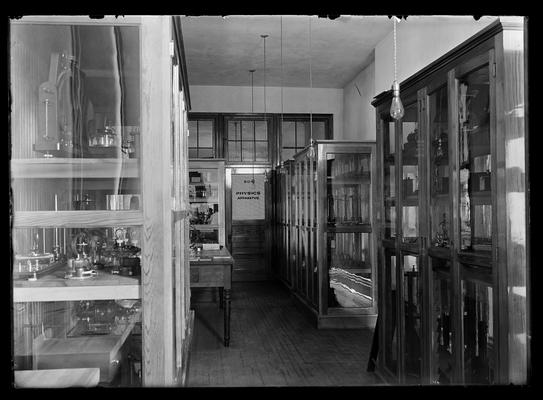 Physics apparatus room