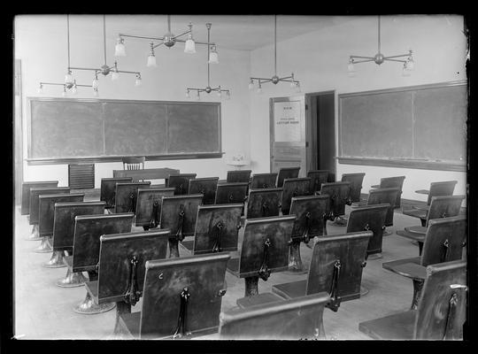 Civil engineering, recitation room