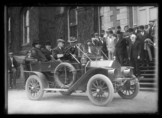 William Jennings Bryan, Judge (President) Barker in auto