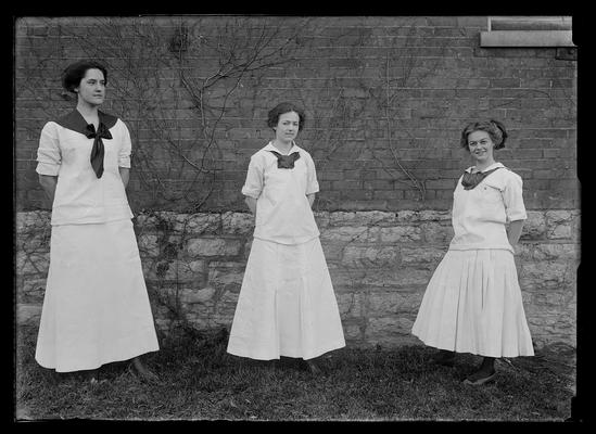 Luella Shafer, Mary Belle Pence, Ruth McChesney