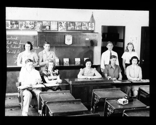 Senior High School debate team of Athens and Lafayette in 1941
