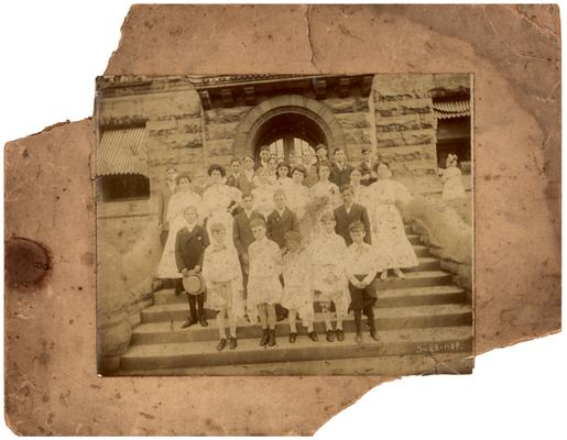 Cover for the photograph portfolio. Says, Fayette County School (Kentucky) Visualized