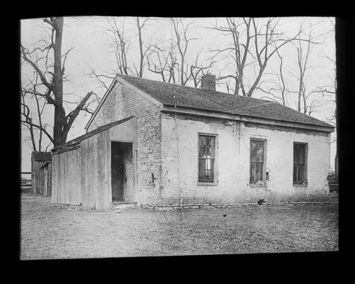 Exterior of Old Greendale, the oldest school in Fayette County
