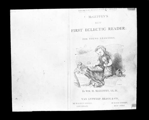 Title Page from McGuffy's First Eclectic Reader: For Young Learners