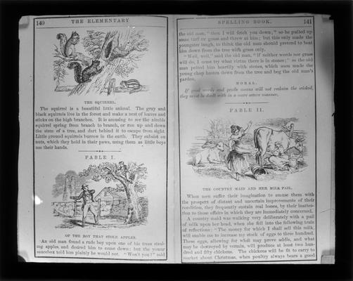 Pages from the Blue Back Speller
