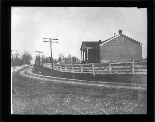 Exterior of the Greendale School
