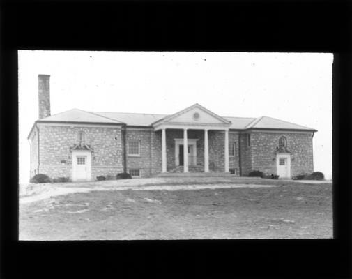 Exterior view of the Briar Hill building, built in 1934