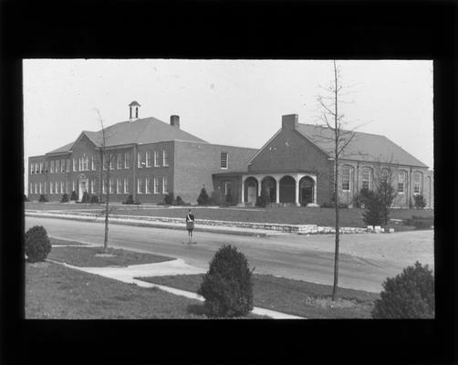 Exterior view of Kenwick School, built in 1936