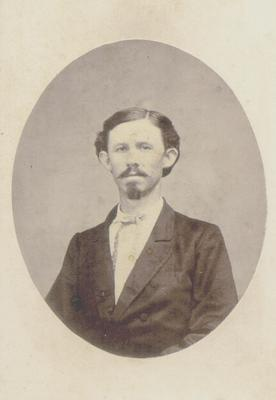 Unidentified man in civilian clothing
