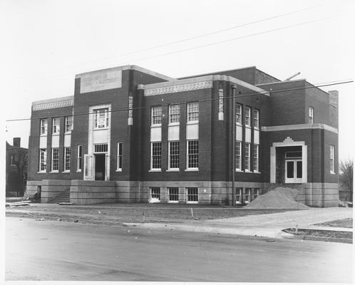 Library and auditorium, Franklin, KY