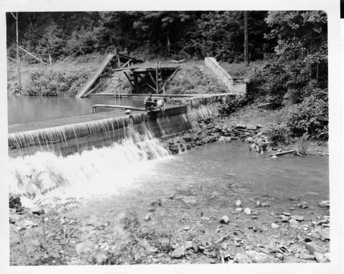 Bartlett State Park Spillway in Middlesboro