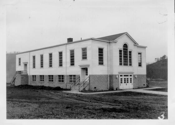 Quicksand Auditorium for State Experiment Station