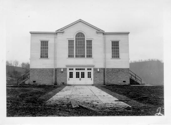 Quicksand Auditorium for State Experiment Station