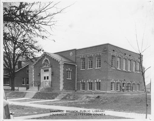 Shawnee Branch Public Library, Louisville. KY