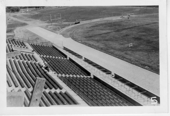 Running Track at University of Kentucky Stadium