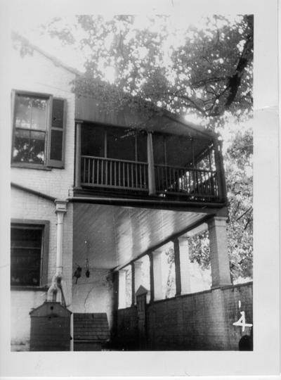 Views of the Morgan House in Lexington, KY on September 13, 1938
