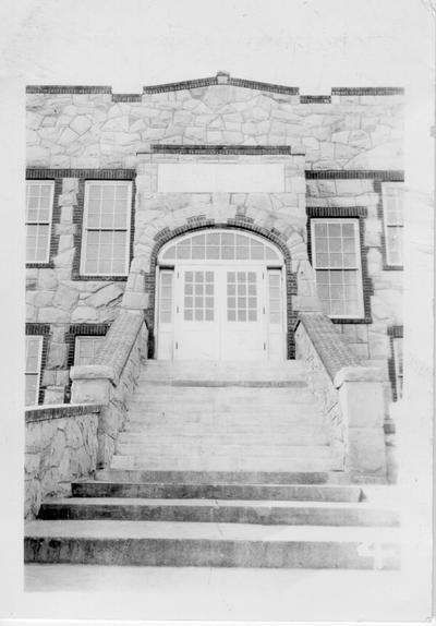 Entrance to Hillsboro High School