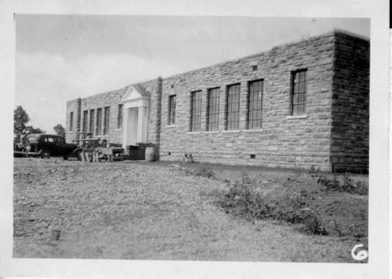 Lancaster Colored School.  Colored School, Garrard Co, Lancaster, KY