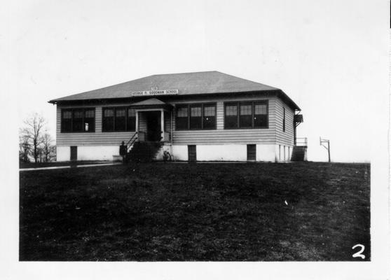 George H. Goodman School, Big Clifty.  Dedicated September 30, 1937
