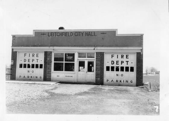 City Hall and Fire Station at Litchfield