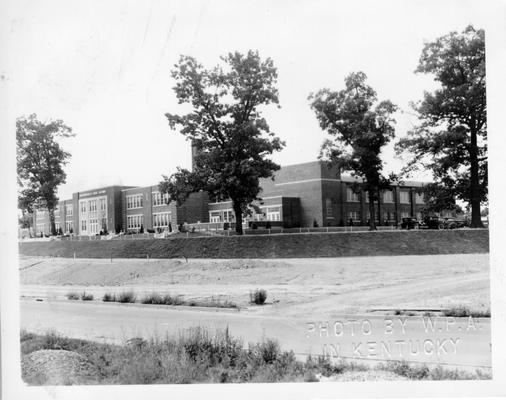 Madisonville High School (summer scene)