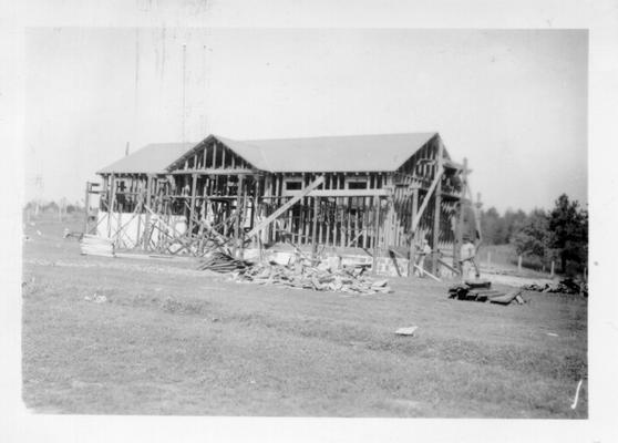 Grayhawk School under construction
