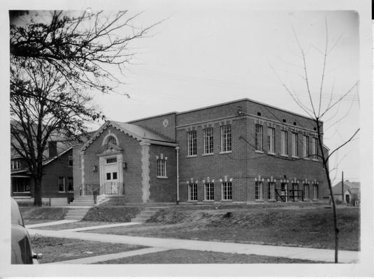 Shawnee Branch Public Library (front exterior view)