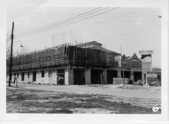 State Fairgrounds restaurant construction
