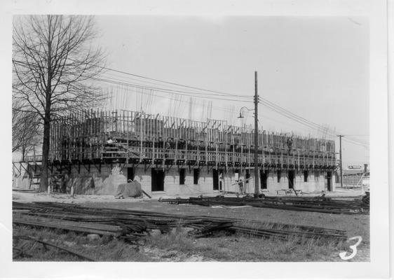 State Fairgrounds restaurant construction